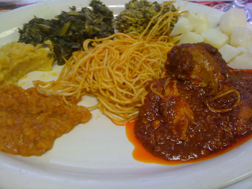 Abyssinia Lunch Buffet takings, Memphis, Tenn.