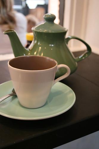 GInger and White tea set