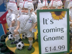 Football's Coming Gnome (earlier than some exp...