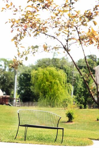365-182 Garden bench