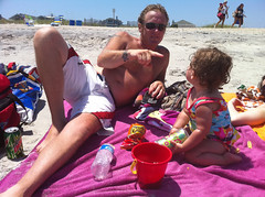Jeff Cherryholmes and Milly Dotsey on Wirghtsville Beach