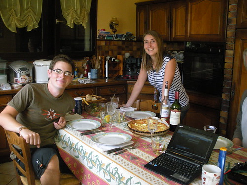 Dejeuner chez Claire & Alex