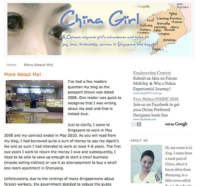 China Lass: A China Girl's Singapore Story