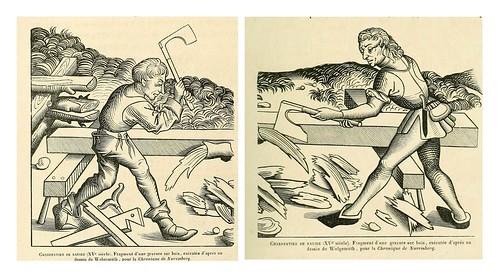 009-Carpinteros de rivera siglo XV-Le moyen äge et la renaissance…Vol III-1848- Paul Lacroix y Ferdinand Séré