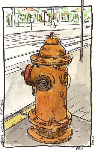 portland fire hydrant