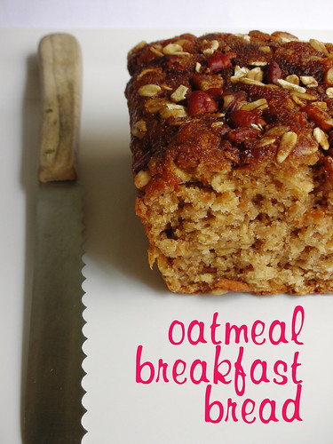 oatmeal breakfast bread