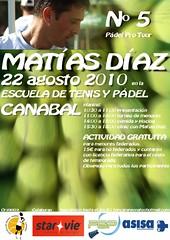 Matias Díaz en la escuela
