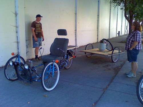 Trike with new trailer