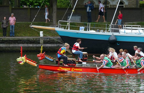 Drachenbootrennen in Medemblik