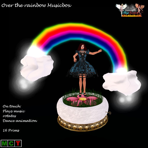 Over the rainbow Musicbox
