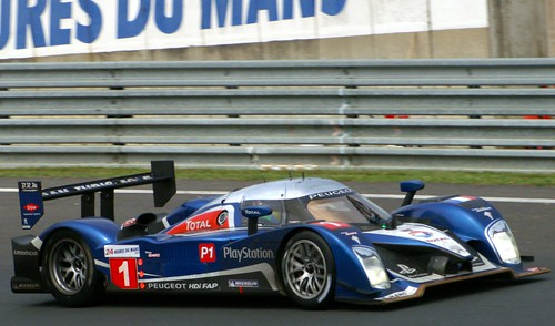 Team Peugeot Total's Peugeot 908 HDi FAP Driven by Alexander Wurz, Marc Gene and Anthony Davidson