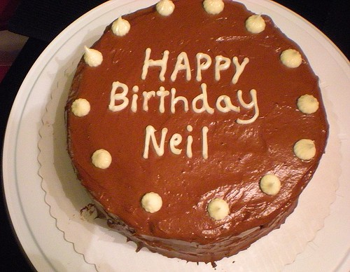 Neil's Birthday Cake