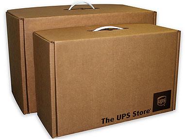 UPS Luggage Box