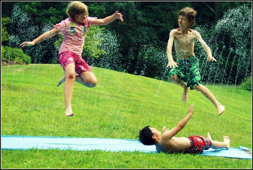 slip 'n slide stunts