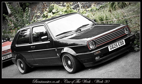 Beastmaster Car of The Week - Week 3 - VW Golf G60 Wolfsburg Edition One Supercharged