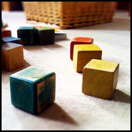 Square blocks