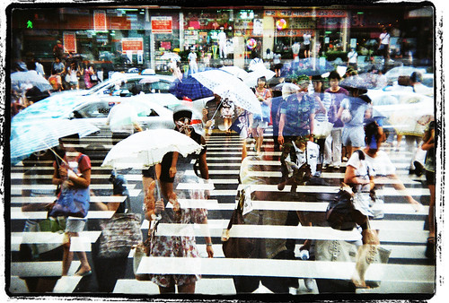HOLGA-135BC-SEOUL, rainy season