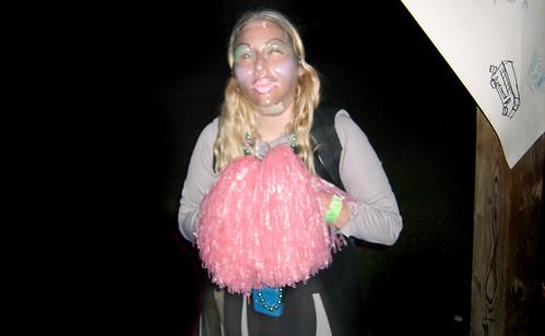 20100702 2148 - X-Day - costume ball - Carolyn, wearing Clint's mask - GEDC2015