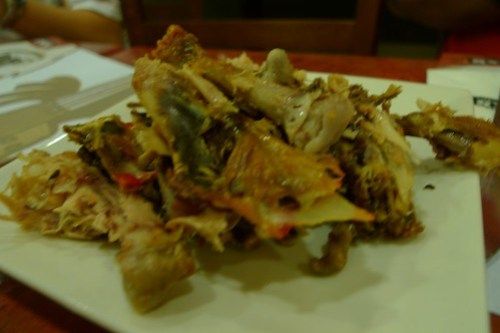 Max's chicken - after being devoured