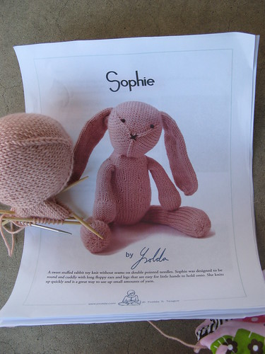 Sophie pattern by Ysolda Teague