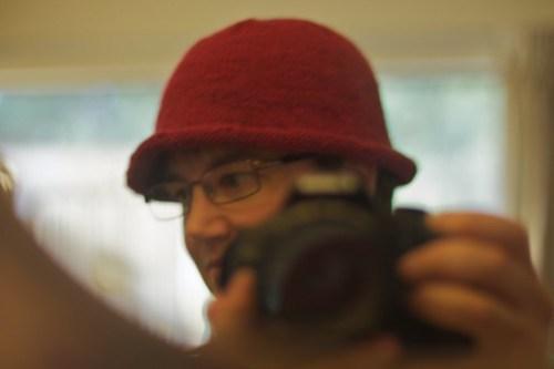 Aunt Susan's hat: side