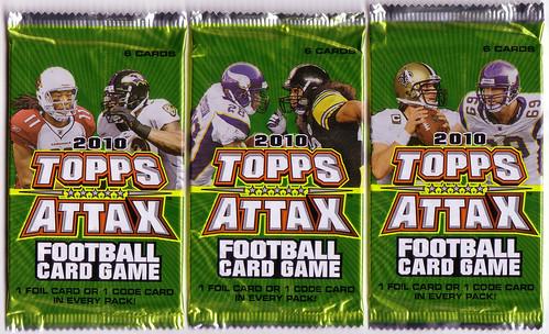 2010 Topps Attax packs