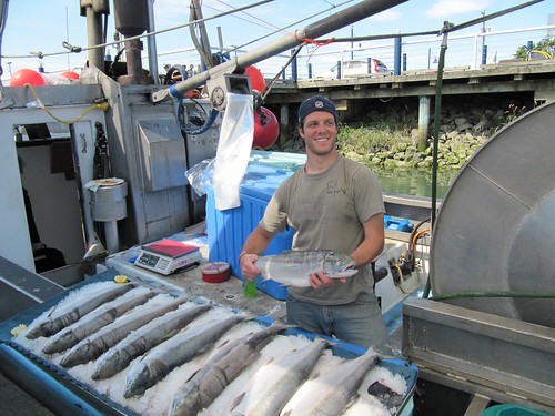 cast for salmon off the public fishing wharves..