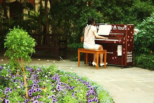 Street Piano - Postman's Park 2