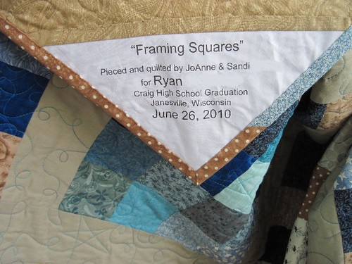 Framing Squares label