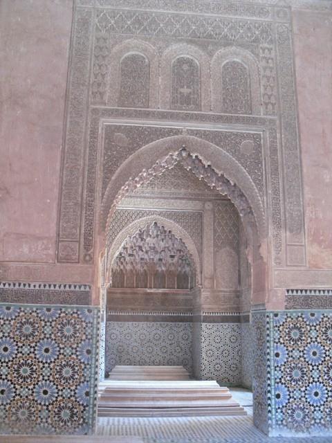 5 Saadian tombs archway
