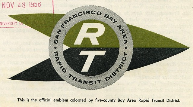 Original BART logo (1958)