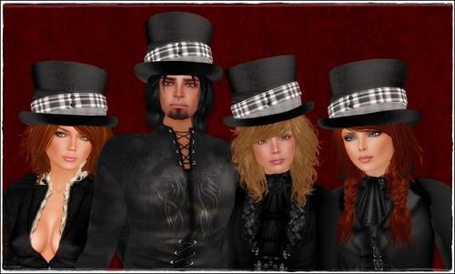 Hatpins - Jordan Top Hat - Family