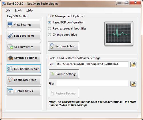 Easybcd windows xp ubuntu