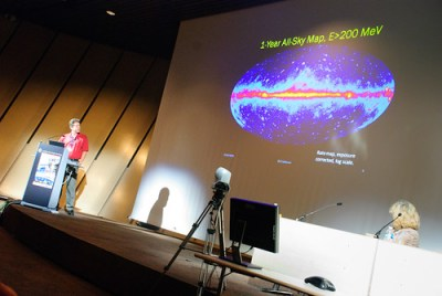 The Fermi sky