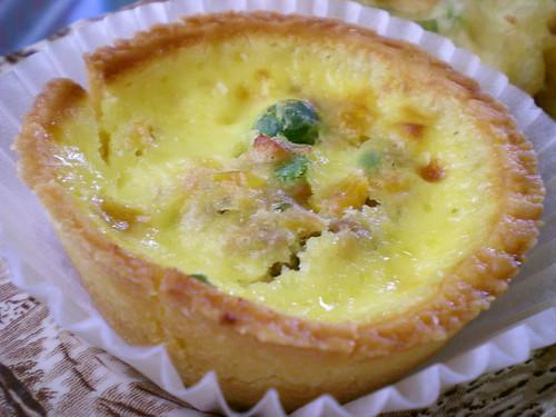 Chicken egg tart