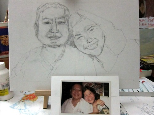 portrait - mom and dad (unfinished)3