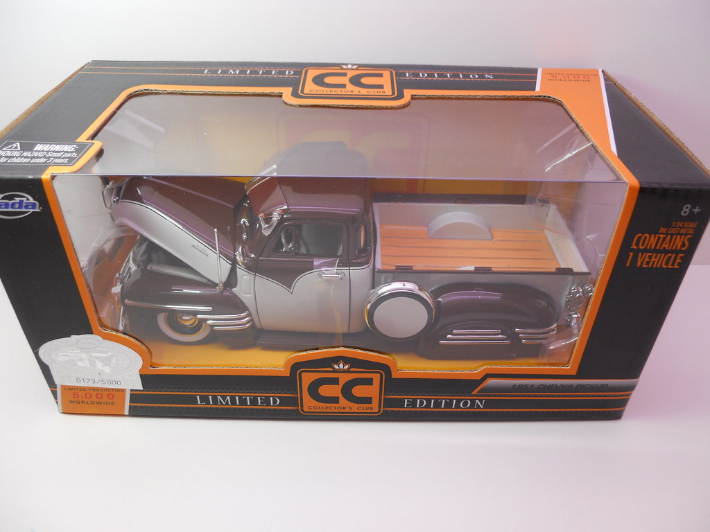 jada toys 1951 chevy pickup collectors club (1)