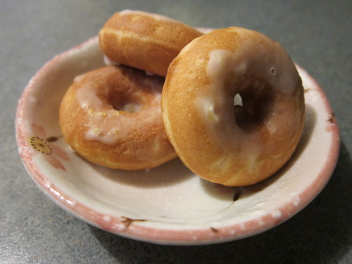 Lemon Glazed Doughnuts