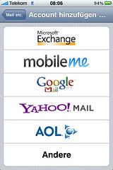 iPhone: E-Mail-Konto hinzufügen