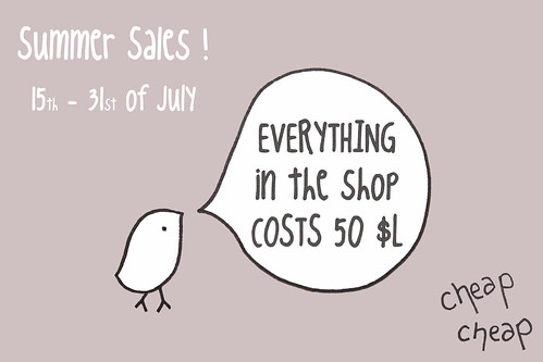 Summer sales !!!