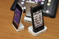 iPhone 4 Bumper + Universal Dock w/o Adapter