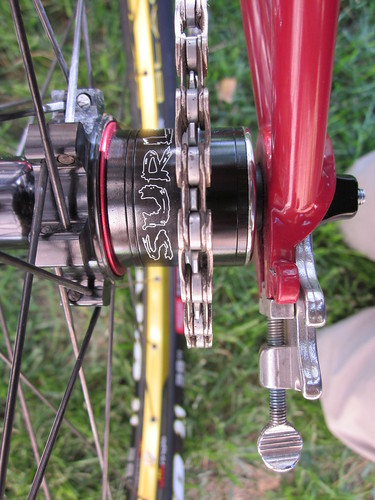 Surly Tug Nut, Cog, and Spacers