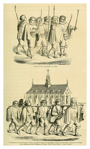 002-Corporacion de orfebres de Paris en procesion-reinado de Luis XIII-Le moyen äge et la renaissance…Vol III-1848- Paul Lacroix y Ferdinand Séré
