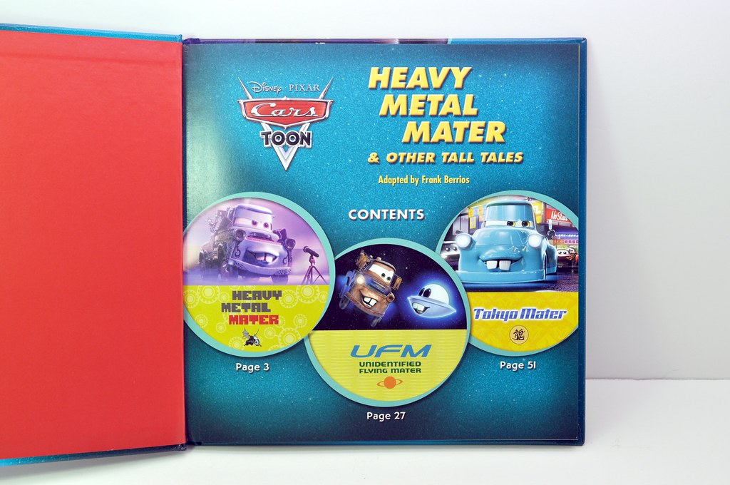 Disney CARS Maters Tall Tales Book pt 2 (2)
