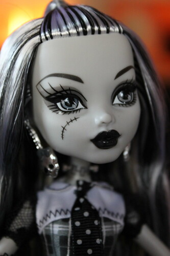 SDCC B/W Frankie, Monster High