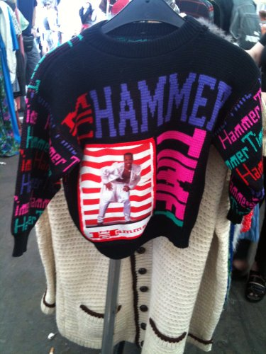 World's Smallest Hammer Time Sweater