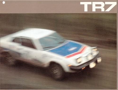 Triumph TR7 Brochure Page 1