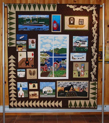 "Quilt based on ""Chronicles of Uncle Mose."""