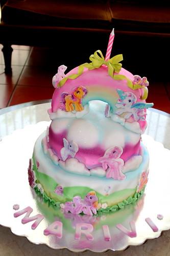 My Little Ponny cake