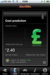 AlertMe iPhone App Screenshot